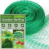 Bird Netting for Garden Protect Vegetable Plants and Fruit Trees,Plastic Trellis Netting for Against Birds, Deer,Squirrels and Other Animals,Garden Netting Pest Barrier (13ft x 20ft)