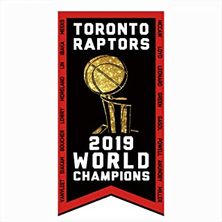 2019 Raptors Flag World Champions 3'x5' Flag Toronto Champs Banner The Same Hanging Air Canada Center