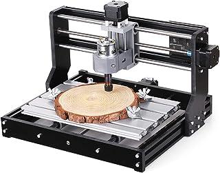 Festnight DIY CNC Router Kit 2-in-1 Mini La-ser Engraving Machine GRBL Control 3 Axis for PCB PVC Plastic Acrylic Wood Car...