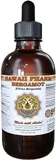 Bergamot Liquid Extract, Bergamot (Citrus Bergamia) Dried Fruit Peel Powder Tincture Supplement 2 oz