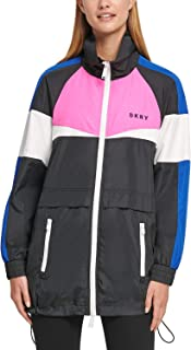 DKNY Sport Colorblocked Jacket, Rebel Multi M