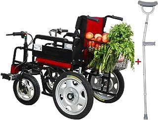 Silla de ruedas eléctrica de Walker médica adecuada para personas mayores con discapacidad Asiento de silla