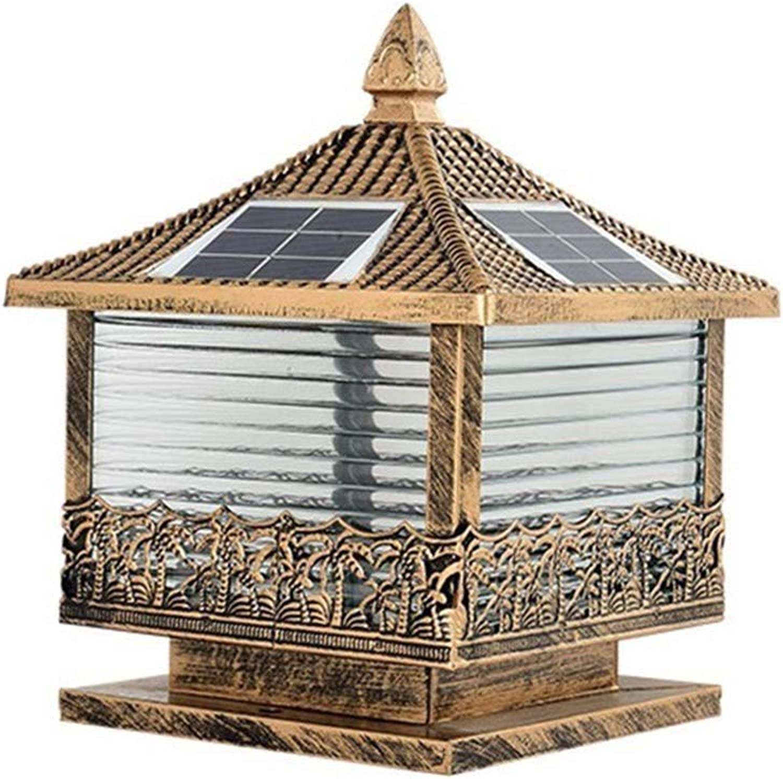 Garden Figurine Led Solar Terrace Y Garden Decoration Landscape Lighting Luminaire Outside Outdoor Spotlight Pillar Light