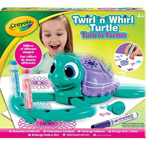 CRAYOLA Twirl n Whirl Turtle Gioco per Bambini