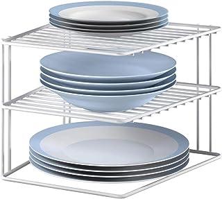 comprar comparacion Metaltex Rinconera, Plata, Blanco, 3 Alturas