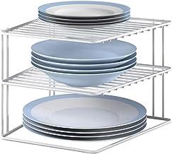 Metaltex Corner Shelf Insert Silos 25x25x195cm, Metal, White, 25x25x19cm