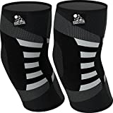 Elbow Compression Sleeves (1 Pair) - Support for...