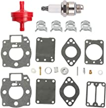 Fuel Li 693503 693501 Carburetor Rebuild Overhaul Kit for Briggs & Stratton 42A707 42A777 422432 42B707 42D707 42D777 42E707 422435 422437 Engine