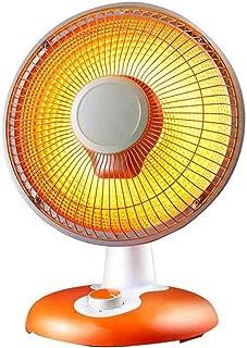 HKDJ-Calefactor Eléctrico con Calentamiento De Tubo Halógeno,Protección De Inclinación De Calentamiento Rápido Y Ahorro De Energía para Escritorios De Oficina/Dormitorios