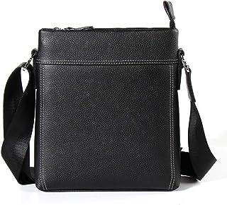 GLJJQMY Shoulder Bag Men's Casual Business Messenger Bag Portable Handbag Adjustable Shoulder Strap Briefcase