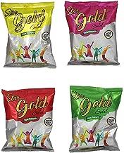 JRM's Holi Herbal Colors Gulal Holi Rangoli Color Powder Pack of 4 (100 Grams Each- 4x100GM=400GM) (RED+Yellow+Pink+Green)