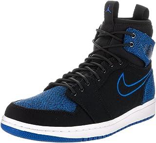 73d9d068f4fc Nike Jordan Mens Air Jordan 1 Mid Leather Synthetic Trainers