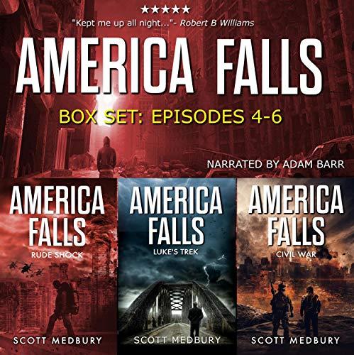 The America Falls Series: Books 4-6  audiobook cover art