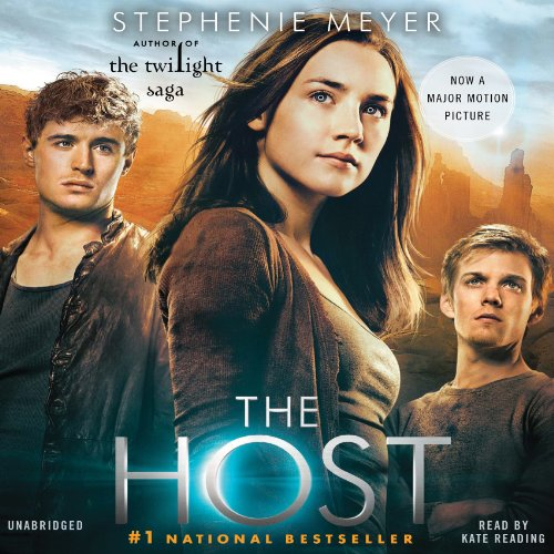 The Host     A Novel              By:                                                                                                                                 Stephenie Meyer                               Narrated by:                                                                                                                                 Kate Reading                      Length: 23 hrs     9,036 ratings     Overall 4.4