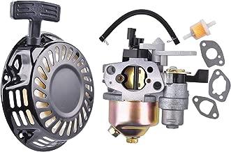Pull Start Recoil Carburetor Set for Harbor Freight Predator 212cc 6.5hp OHV Engine