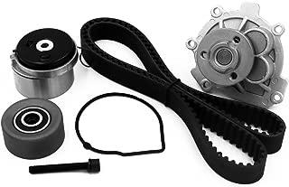Timing Belt Water Pump Kit fits for 2012-2014 Chevrolet Cruze, 2012-2013 Chevrolet Sonic, 2009-2011 Aveo, Aveo5, 2009-2010 Pontiac G3, 1.6L 1.8L DOHC