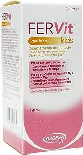 Ordesa Fervit Solución Oral - 120 ml Complemento alimenticio para niños a base