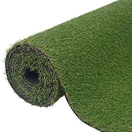 vidaXL Gazon Artificiel Vert 1×5 m/20-25 mm Pelouse synthétique pour véranda terrasse