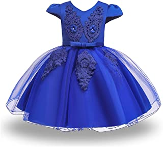 Baby Toddler Girls Pageant Wedding Dresses Birthday Party Baptism Gowns