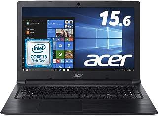 Acer ノートパソコン A315-53-N34G/K Corei3/ブラック/4GB/1TB HDD/15.6型FHD/ドライブ無し/Windows 10