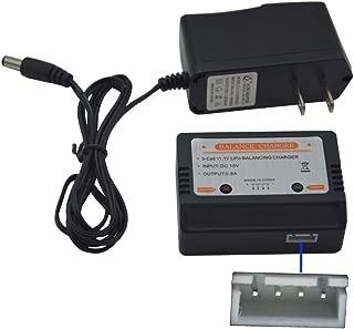 Blomiky 15V Wall Charger with 11.1V XH-4P Plug Balance Box for 11.1V 3S Lipo Battery 15V Charger