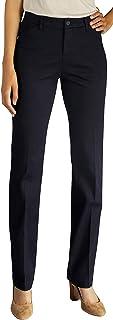Lee Women's Petite Flex Motion Straight Leg Pant