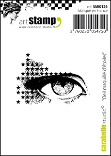 Carabelle Studio Cling Stamp Mini-Marquille Eye of Stars, White/Transparent