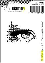 Carabelle Studio Pre-Cut Rubber Stamp - Starry Eye Make-up