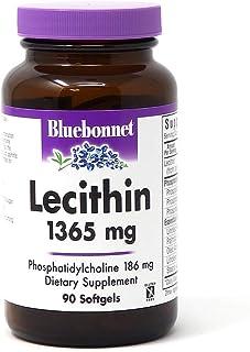 Bluebonnet Lecithin 1365mg, 90 Count