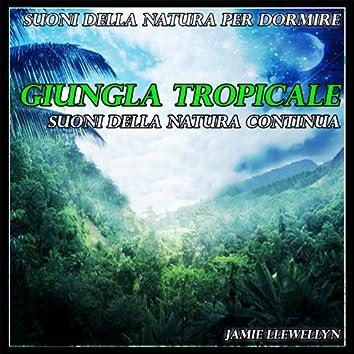 Suoni della natura per dormire: giungla tropicale