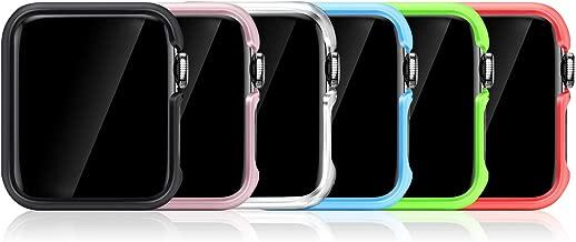 FINTIE [6 Pezzi Custodia per Apple Watch Series 5 44mm 2019 / Series 4 2018 44mm, Ultra Sottile Rigida Protettiva Case Cover