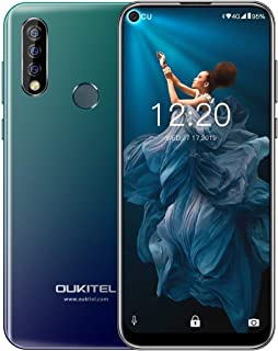 Mobile phone C17 Pro, 4GB+64GB, Dual Triple Cameras, Face ID & Fingerprint Identification, 6.35 inch Pole-notch Screen Android 9.0 Pie MTK6763 Octa-core up to 2.0GHz, Network: 4G, Dual SIM(Green) taiz