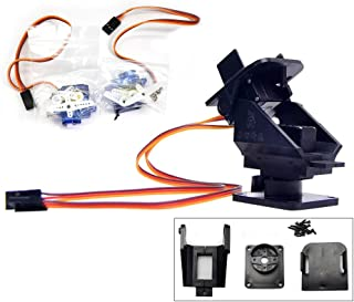 Pan Tilt 2 Axis FPV Camera Gimbal Mount Bracket W/ 2 Servos Support for Ultrasonic Sensor Mounting RC FPV Plane Fixed-Wing Drone