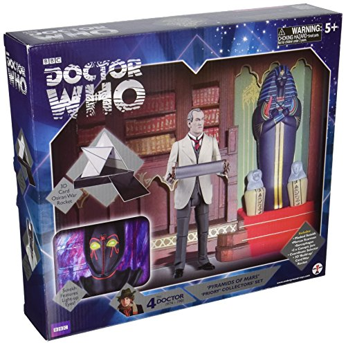 Underground Toys 5' Doctor Who Pyramids of Mars 'Priory' Collector's Set