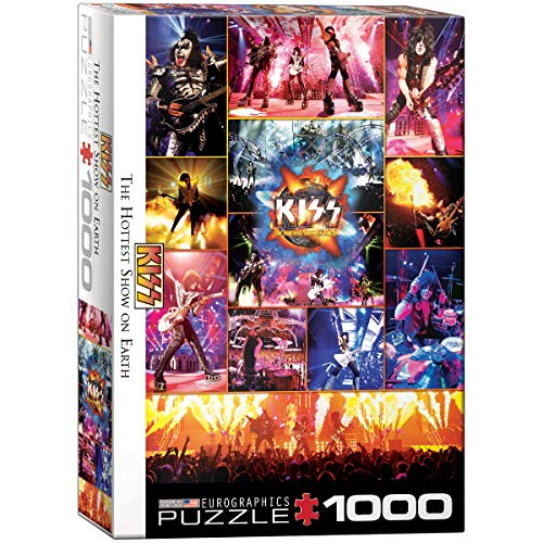 Eurographics 1000 Teile - KISS The Hottest Show on Earth