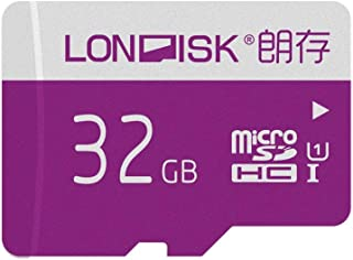LONDISK 32GB SD Card Micro SD Card U1 Class 10 Memory Card with MicroSD Adapter 10 Years Sale-After(U1 32GB)
