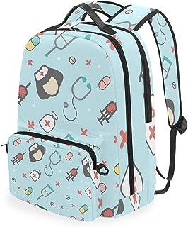 MONTOJ Bolsa de viaje para enfermera con bolsa cruzada para campus