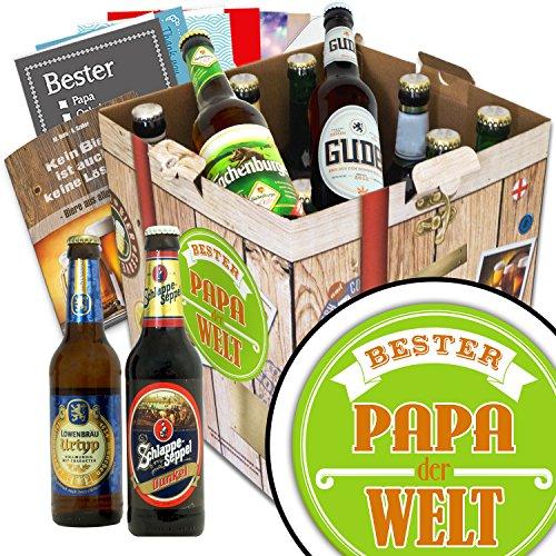 BESTER-PAPA der WELT Geschenkset + gratis Bierbuch + Geschenkkarten + Bierbewertungsbogen.Bier Geschenke für den Lieblings-Papa. Besser als Bier selber machen oder selbst brauen: Vatertagsgeschenk Vatertagsbier lustige Geschenke Vatertag Papa Vatertagsgeschenk Papa Geschenke lustig Biergeschenke für Väter Geschenkideen zum Vatertag für Opa Geschenke zum Vatertag für Männer Vatertag Geschenkset