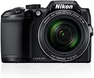 Nikon Coolpix B500 Digital Camera, Black