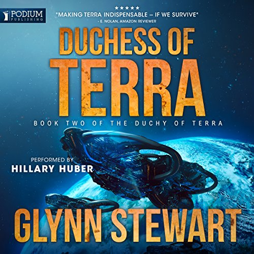 Duchess of Terra audiobook cover art