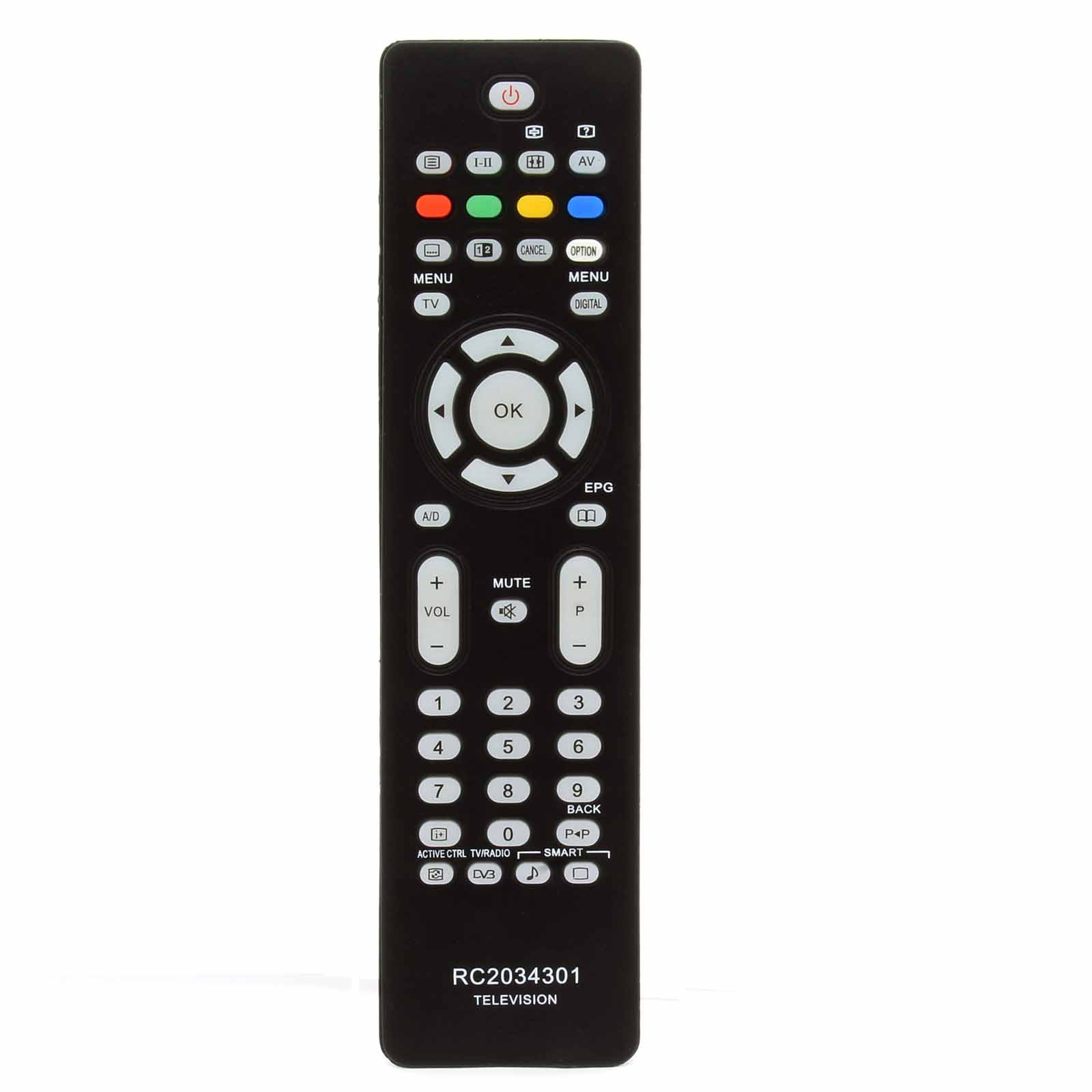 121AV Reemplazo de Control Remoto RC2034301 / 01 313923814201 ...