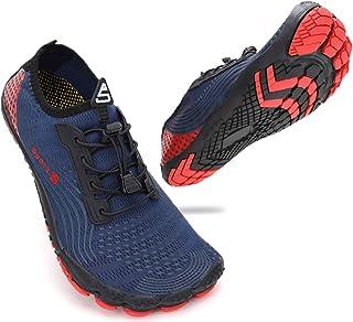 ZHR Mens Womens Water Shoes Quick Dry Aqua Socks for Swim Beach