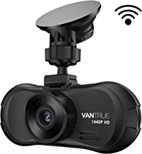 Vantrue X3 WiFi Dash Cam, QHD 2.5K 1440P 30fps 1080P 60fps Dash Camera 170 Degree Wide Angle Car Camera for Cars and Trucks, Super HDR Night Vision, Parking Mode, Motion Detection, Support 256GB Max