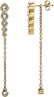 Esprit Twinkle Earrings For Ladies , Stainless Steel , Eser00212200 - Gold