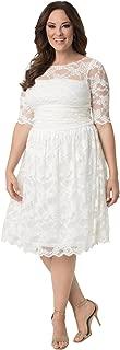 Women's Plus Size Aurora Lace Wedding Dress