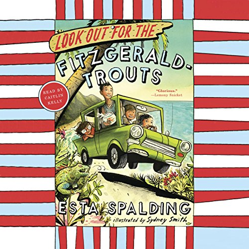 Look Out for the Fitzgerald-Trouts audiobook cover art