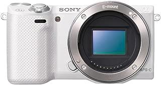 ソニー SONY ミラーレス一眼 α NEX-5R パワーズームレンズキット キットレンズ:E PZ 16-50mm F3.5-5.6 OSS  ホワイト NEX-5RL/W
