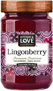 Kitchen & Love Ligonberry Preserve, 390g