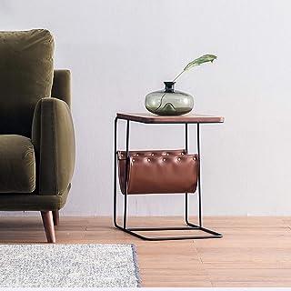 Table HUO, Tableau Moderne -49 * 51cm de de lumière de Support de Livre de Fonction de Stockage Moderne de Tableau de côté...