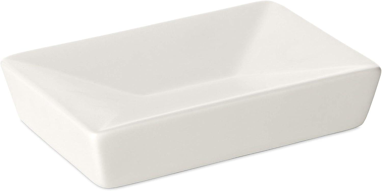 TATAY Thai Tucson Mall - Soap Dish Ceramic Max 48% OFF White 12x7.8x3 cm